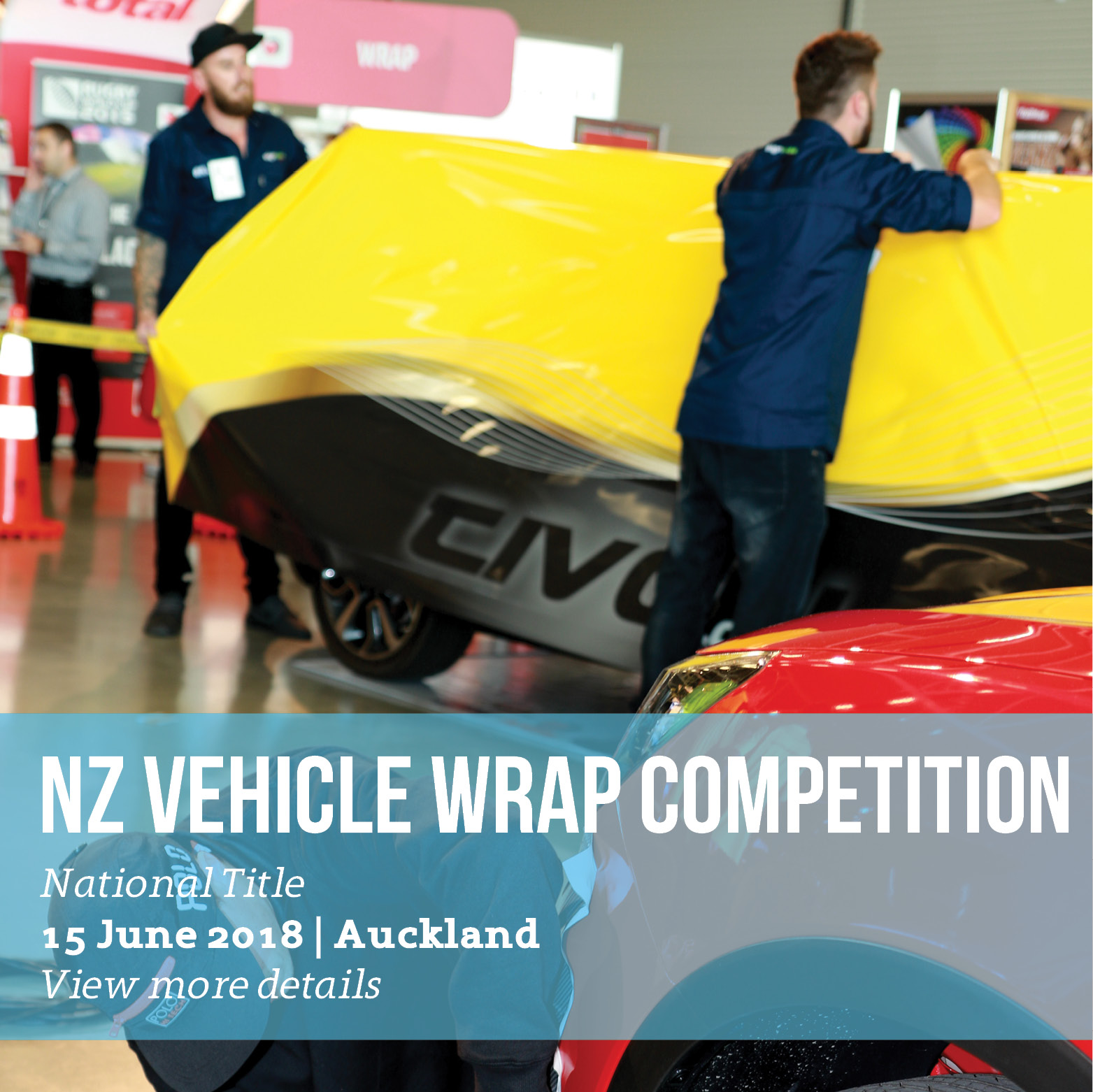 NZ Vehicle Wrap Competition
