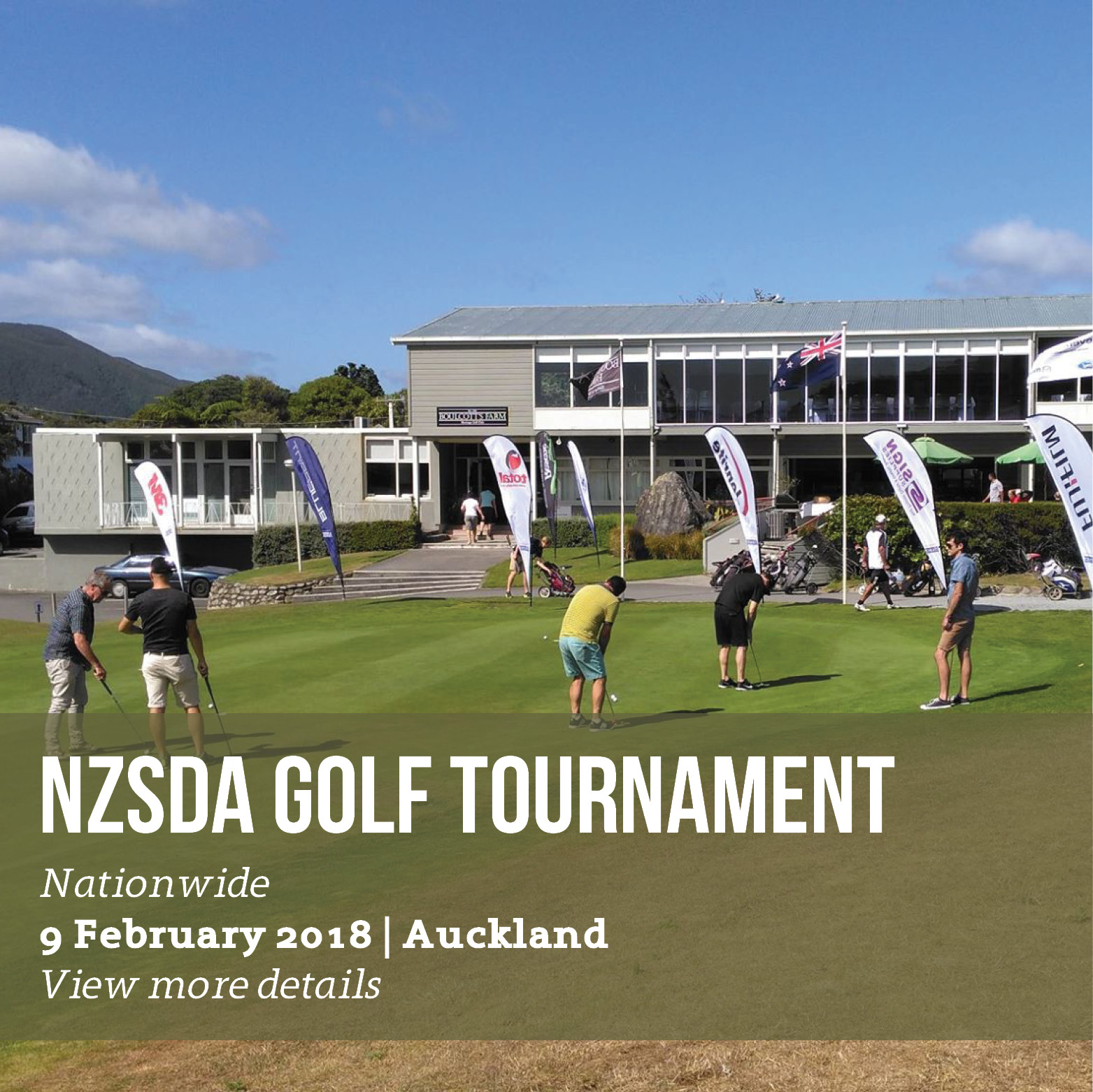 NZSDA Golf Tournament