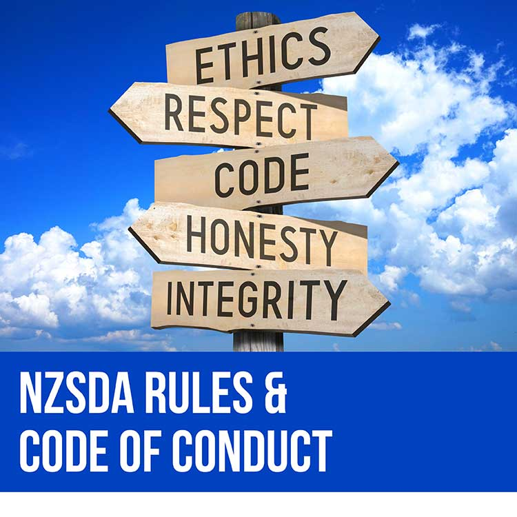 NZSDA Rules & Code of Conduct