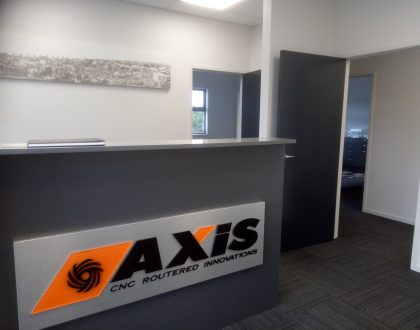 Signie of the Month | Axis CNC Routered Innovators | Russell Thorogood & Leon Pryce