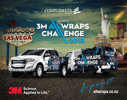 Computaleta presents the 3M All Wraps Challenge  |  You are the Game Changer!