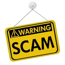 Warning Scam - Vigilance is Key