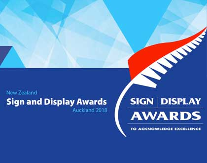 NZ Sign & Display Awards 2018 – 16 June