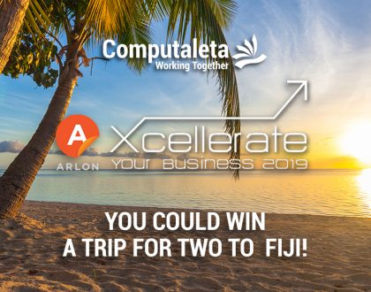 You Could Win!  The Ultimate Fiji Retreat for Two  - Courtesy of Arlon and Computaleta