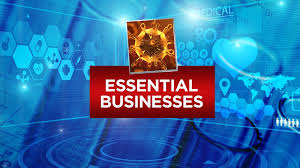 COVID-19: ESSENTIAL BUSINESSES