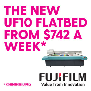 The FUJIFILM Vybrant UF10 | From $742 a week*